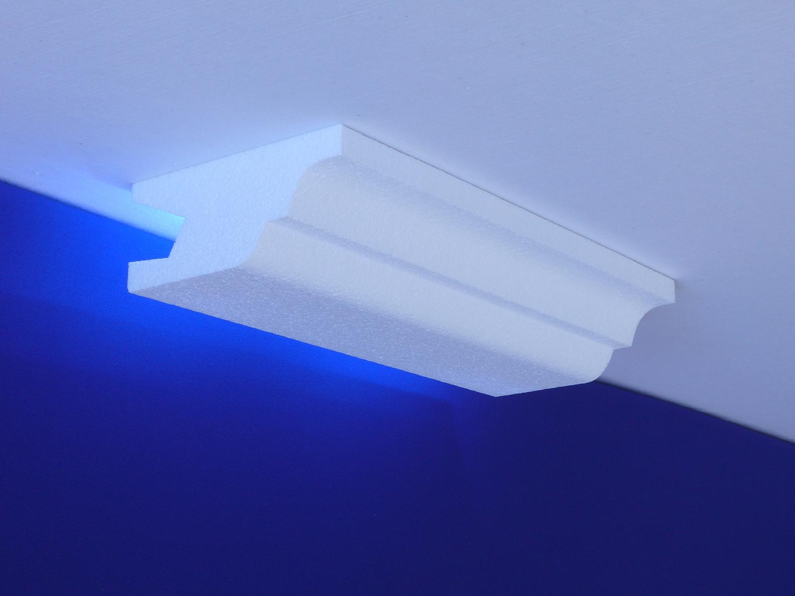 Innenstuck stuckprofil stuckleiste indirektes licht indirekte ...